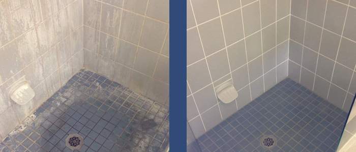 Regrout Shower Tiles
