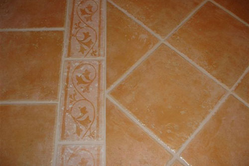 Floor Grout ReColouring After